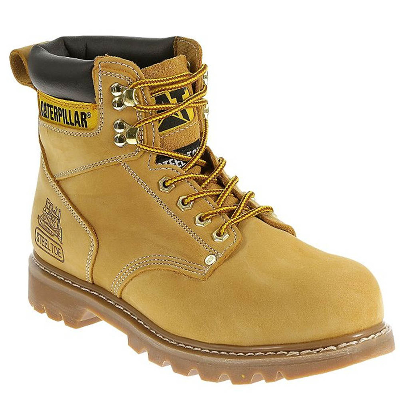 ac67272f9ae CAT P70042 Second Shift Wheat Work Boots