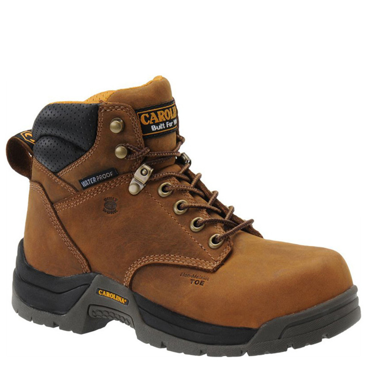 bf439beef4c Carolina CA1620 Women's RALEIGH BROAD TOE Composite Toe Non-Insulated  Waterproof Work Boots