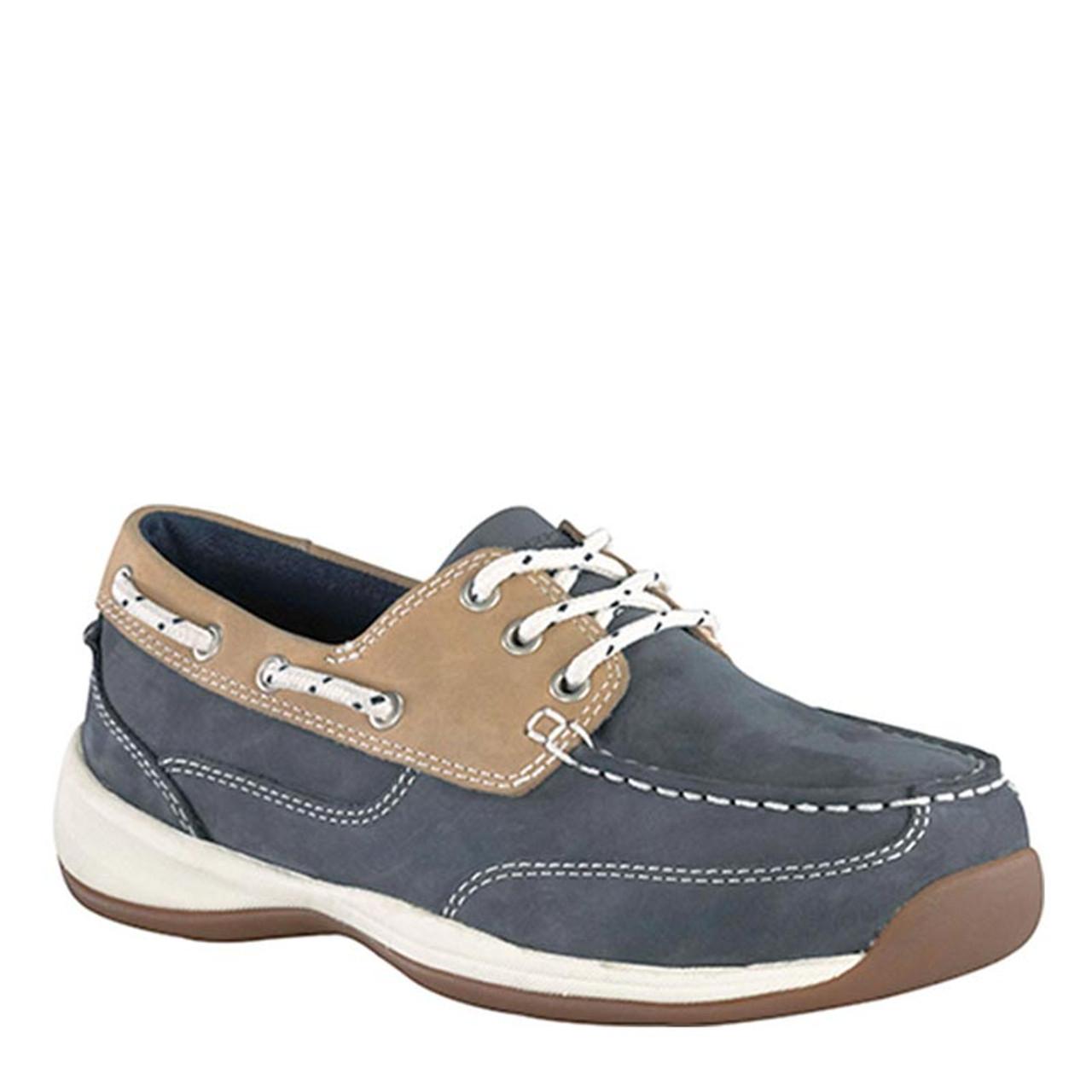 f40ad766fff Rockport Works RK670 Women's Steel Toe Sailing Club Work Shoes