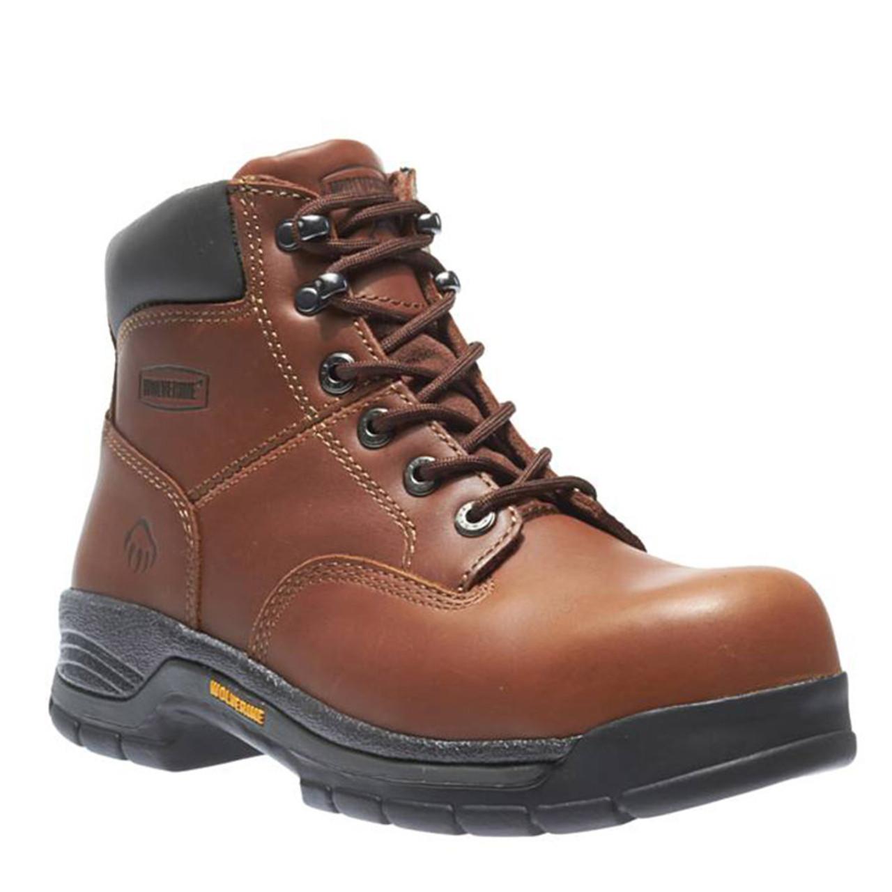 99ec7da8a09 Wolverine W04904 HARRISON Steel Toe Non-Insulated Oiled Work Boots