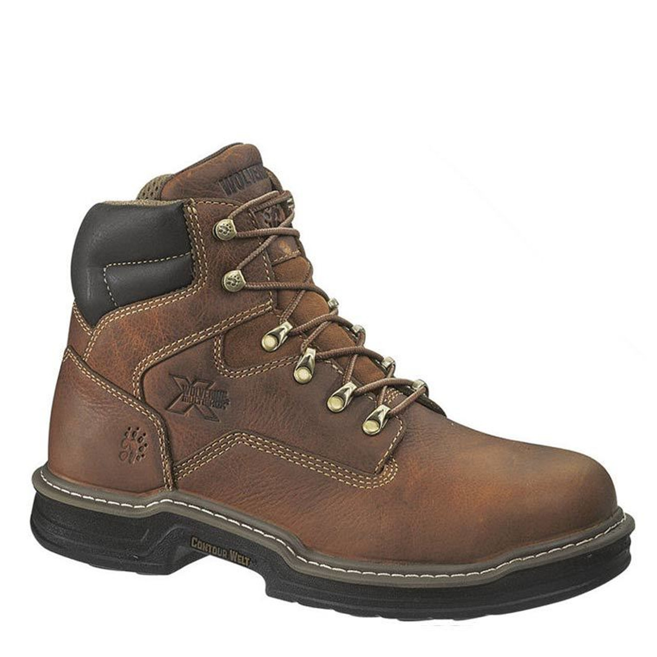 8e0d138b372 Wolverine W02419 RAIDER Steel Toe Non-Insulated Multishox Work Boots