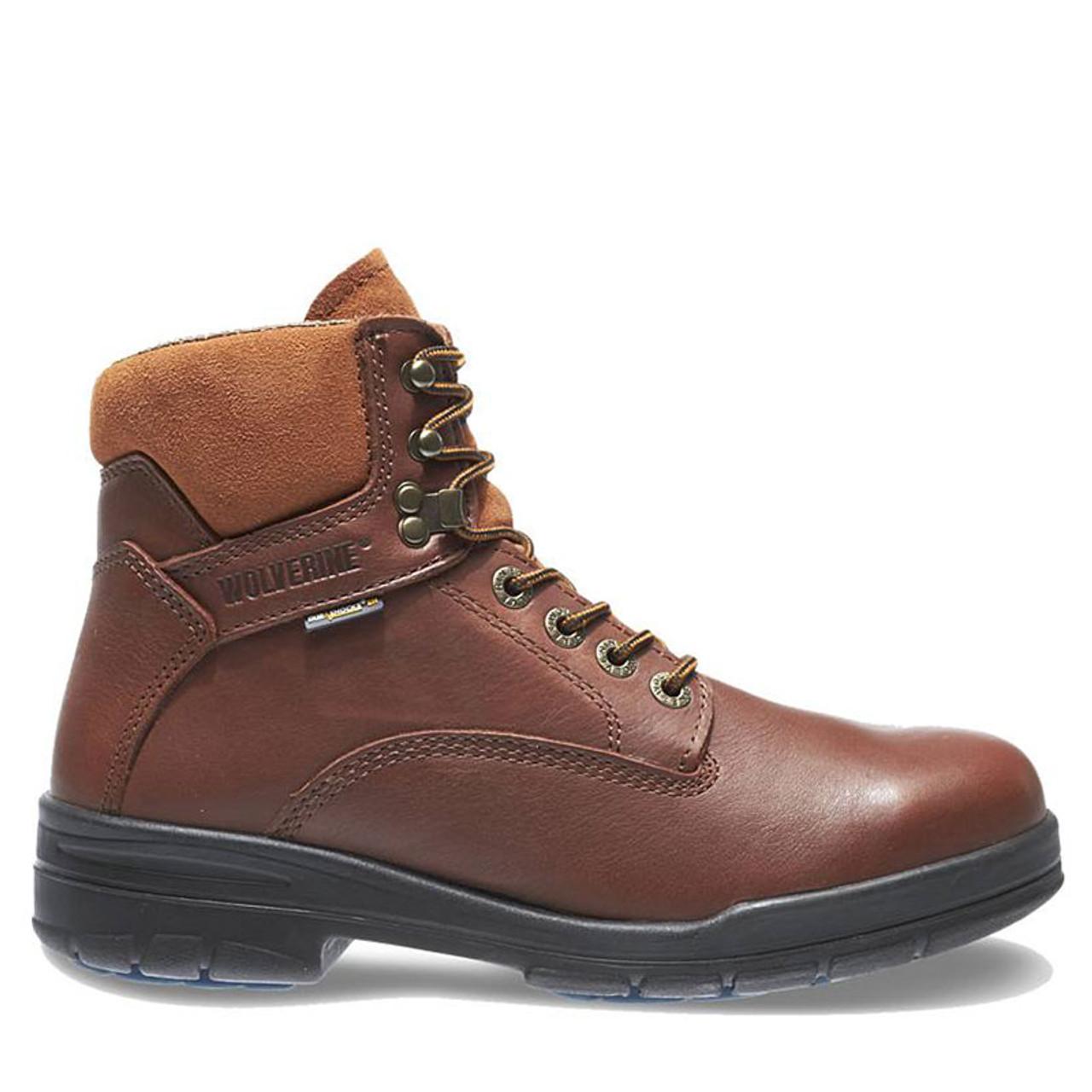 9e051e30ec1 Wolverine W03120 DURASHOCKS DIRECT ATTACH Steel Toe Non-Insulated Work Boots