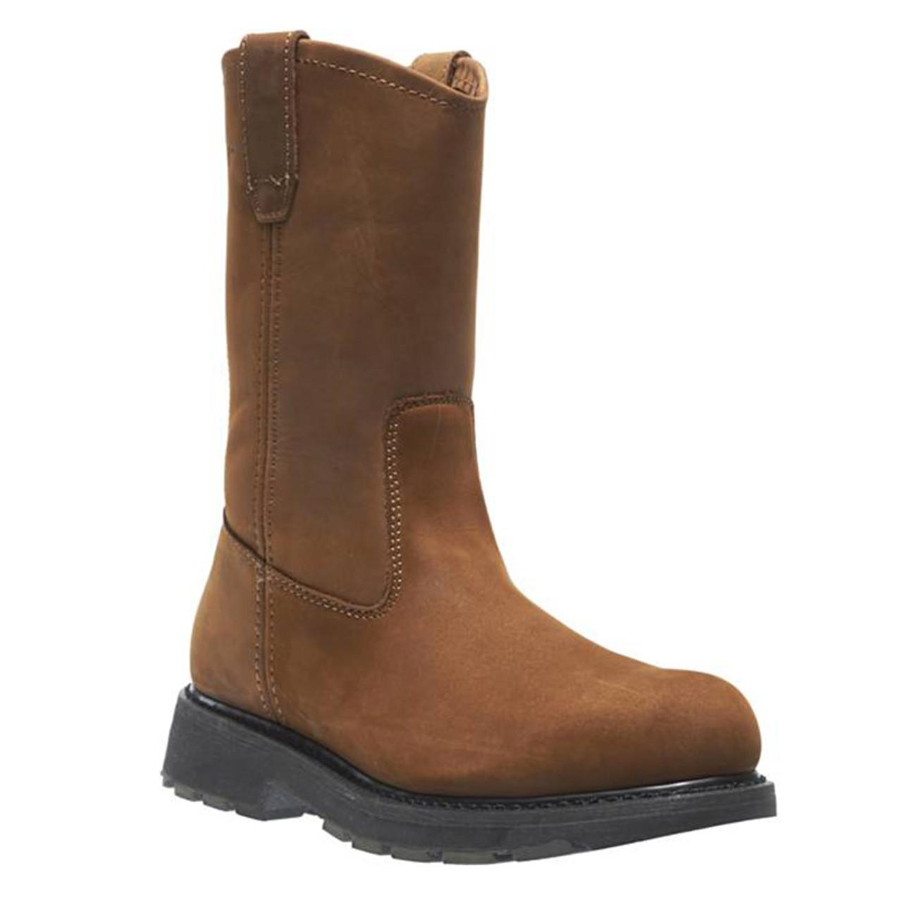 e56e3724f87 Wolverine W04707 DD WORK Steel Toe Wellington Non-Insulated Unlined Boots