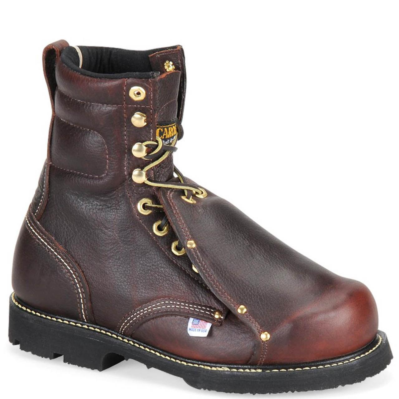 b5bb6ab3a2a Carolina 505 USA INT HI BROAD TOE Steel Toe External Met Guard Work Boots