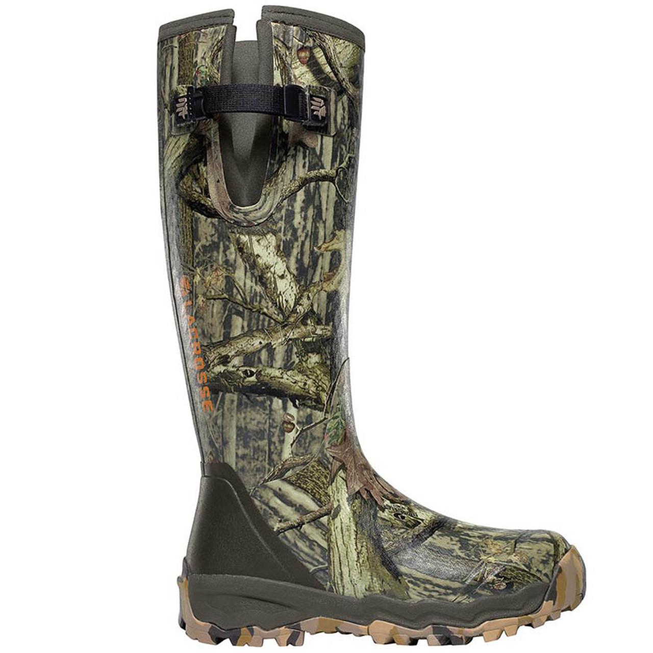 021b0be7e2d LaCrosse 376017 ALPHABURLY PRO SIDE-ZIP 1000g RealTree Camo Hunting Boots