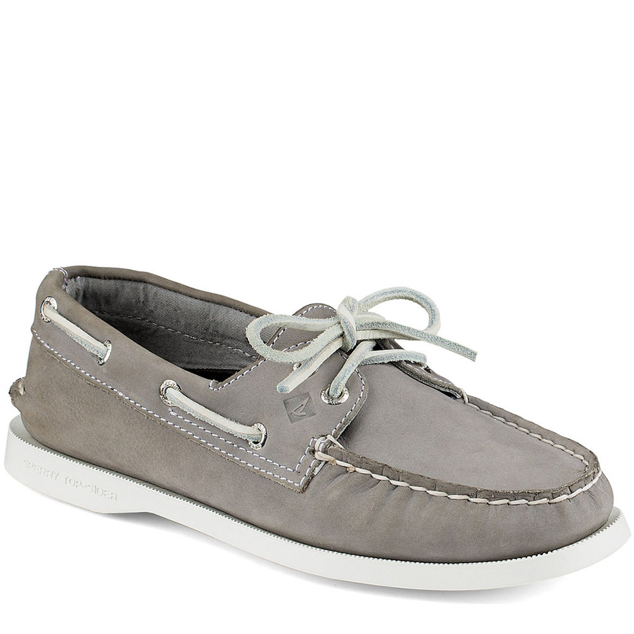Sperry Sts94328 Women S Authentic Original 2 Eye Gray Boat Shoes