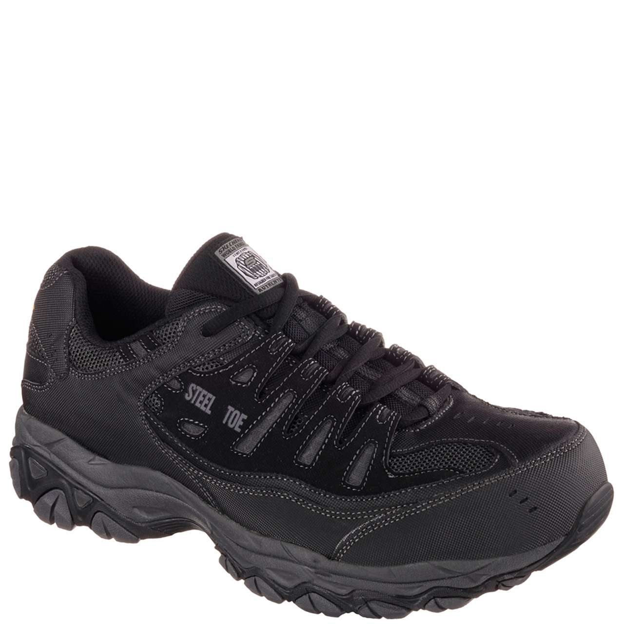 Skechers 77055 CANKTON Athletic Steel Toe Work Shoes