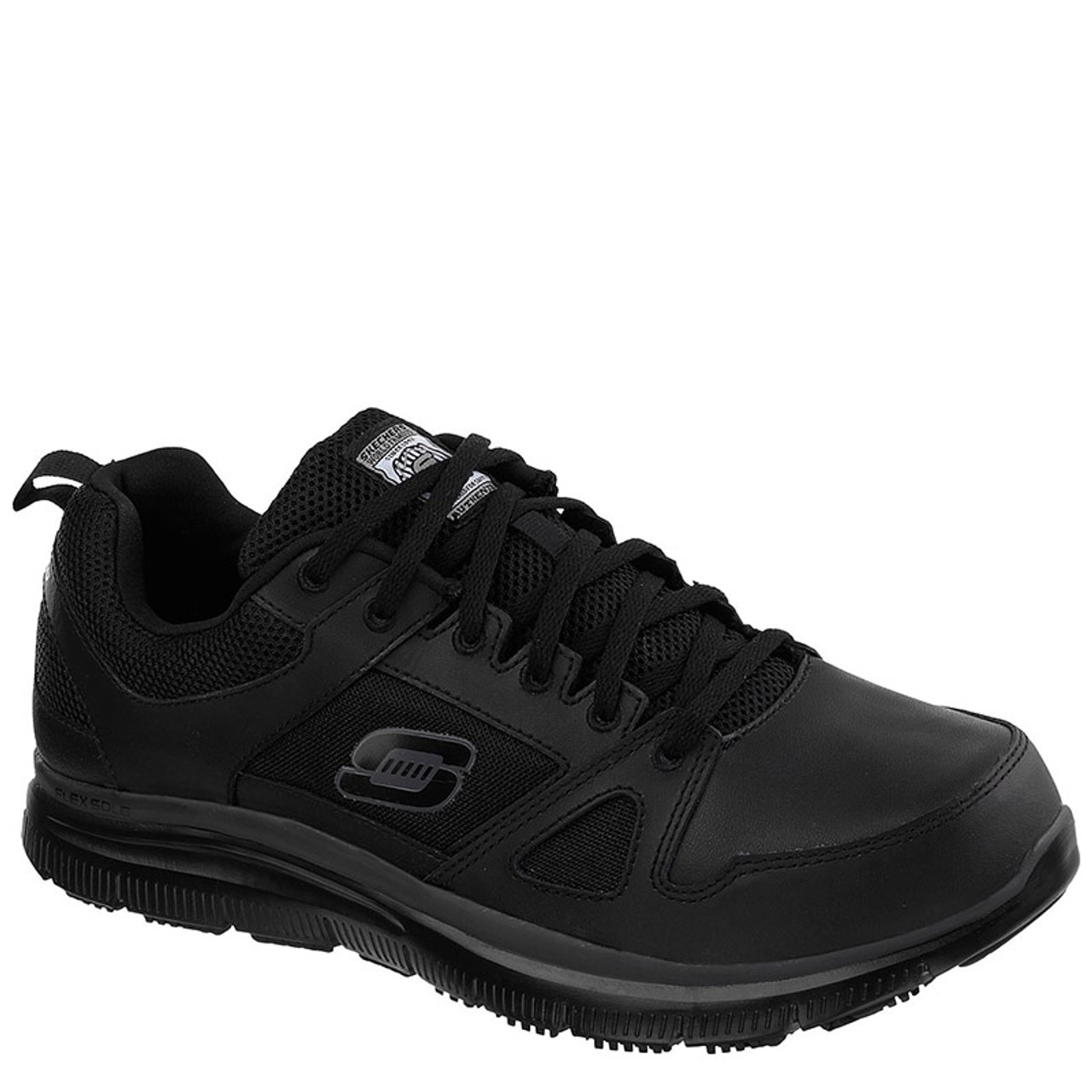 new lower prices best selection of 2019 buy best Skechers 77040 FLEX ADVANTAGE Slip Resistant Work Shoes