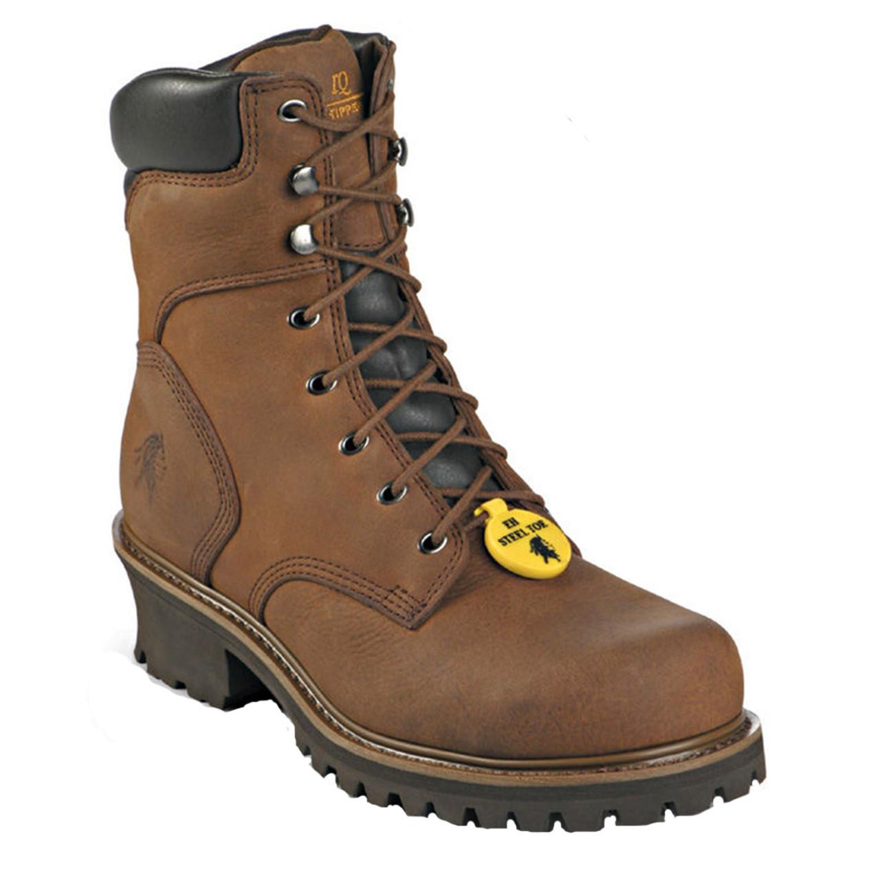 ec14c7b0549 Chippewa 55025 HADOR HEAVY DUTY Steel Toe 400g Insulated Logger Boots