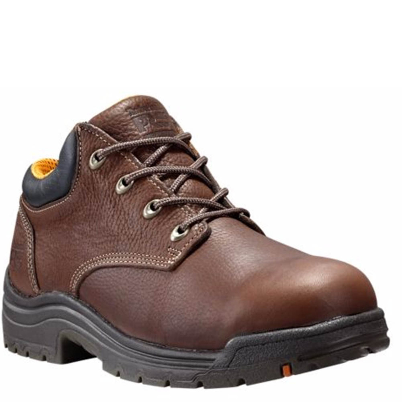 89a3d03c790 Timberland PRO 47028 TITAN Brown Safety Toe Work Shoes