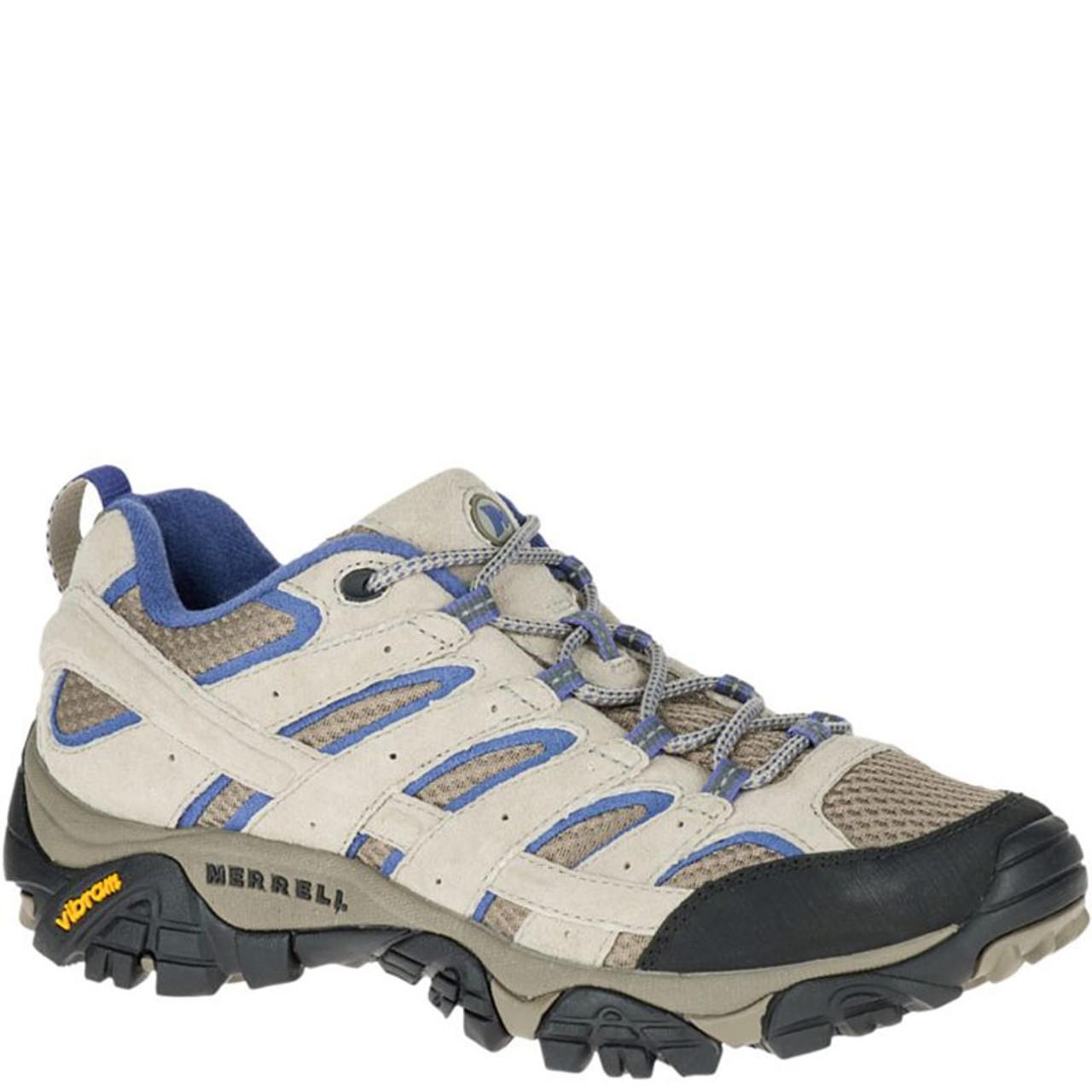 21c474a6 Merrell J06010 Women's MOAB 2 VENTILATOR Hiking Shoes Aluminum Marlin
