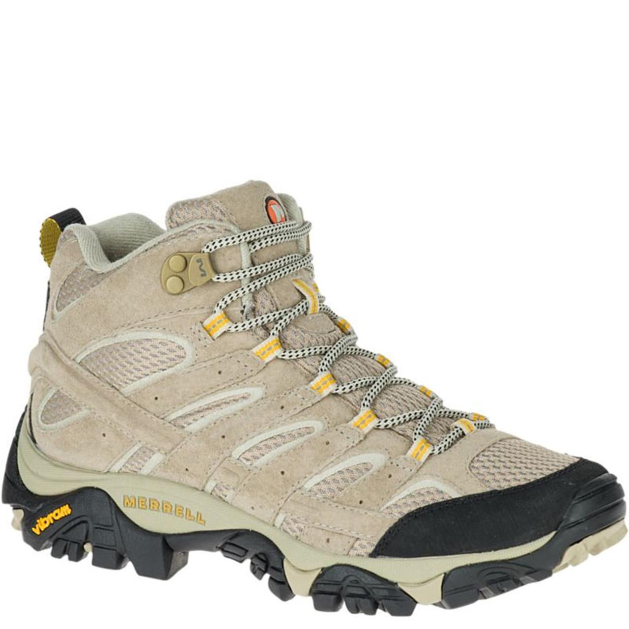9073d267 Merrell J06048 Women's MOAB 2 VENTILATOR Mid Hiking Boots Taupe