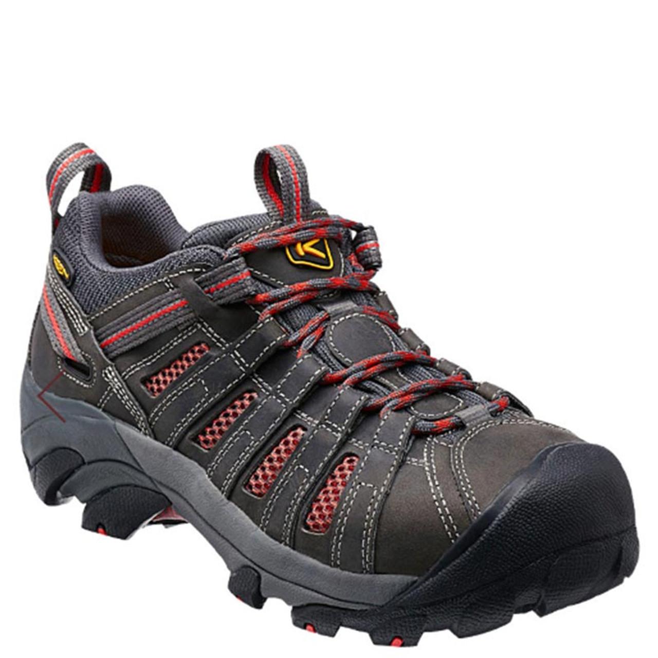 Keen Utility 1014598 Women's FLINT LOW Steel Toe Work Shoes Magnet Rose -  Family Footwear Center