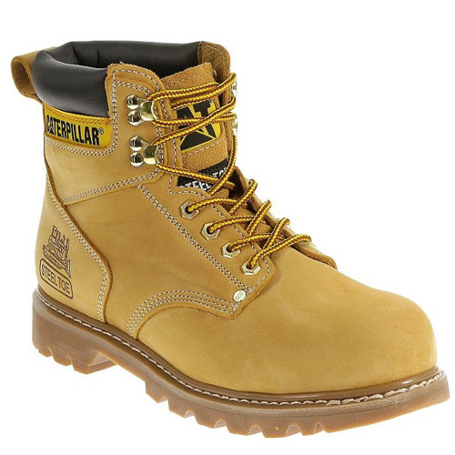 CAT Second Shift Soft Toe Wheat Work Boots