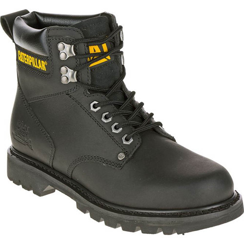 Second Shift Soft Toe Black Work Boots