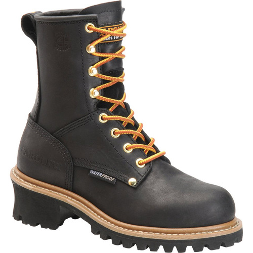 Carolina CA1420 Women's ELM Steel Toe Non-Insulated Black Logger Boots