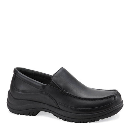 Dansko WAYNE Black Leather Slip-On Shoes