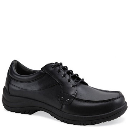 Dansko WYATT Black Leather Oxford Shoes