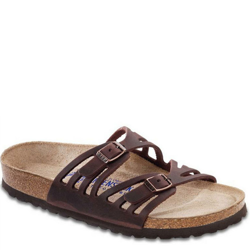 Birkenstock Women's GRANADA HABANA Oiled Leather Sandals