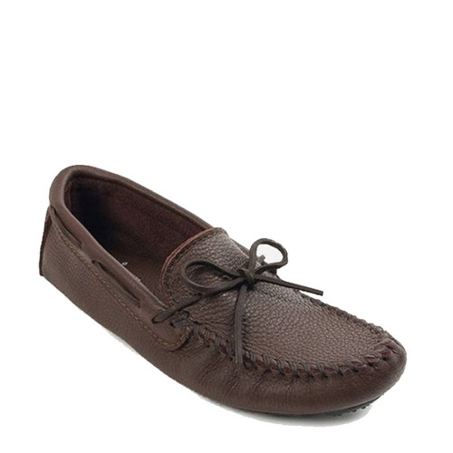 Minnetonka 952 MOOSEHIDE DRIVER Brown Moccasins