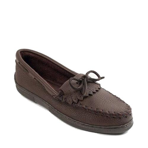 Minnetonka 392 MOOSEHIDE KILTY Brown Loafers