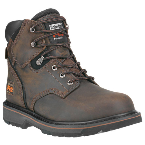"Timberland PRO 33046 PIT BOSS 6"" Soft Toe Work Boots"