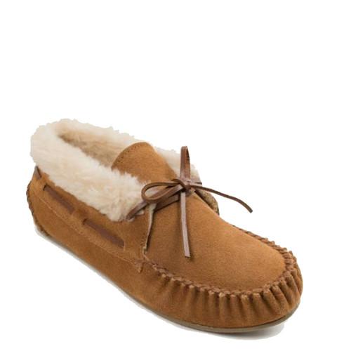 Minnetonka 40031 CHRISSY Brown Bootie Slippers