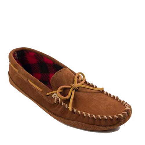Minnetonka 773 DOUBLE BOTTOM FLEECE Moccasin Slippers