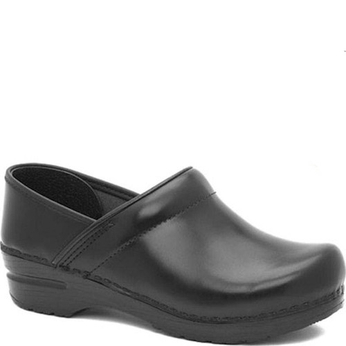 Dansko Men's BLACK CABRIO Professional Clogs