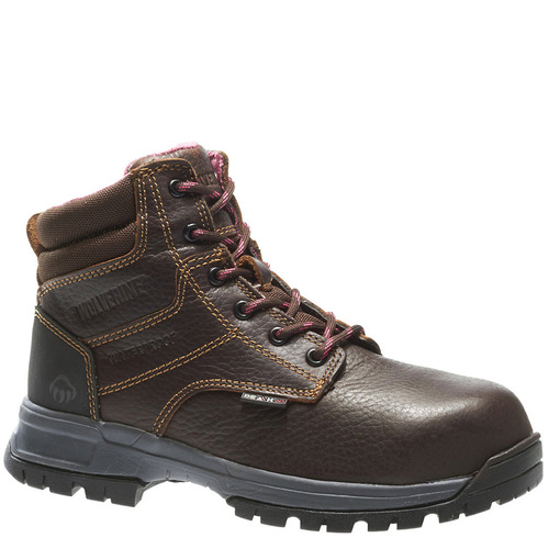 Wolverine W10180 DURASHOCKS PIPER Women's Composite Toe Security Friendly Brown Work Boots