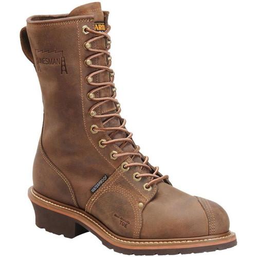 """Carolina CA1904 10"""" LINEMAN BOOTS Composite Toe Non-Insulated"""