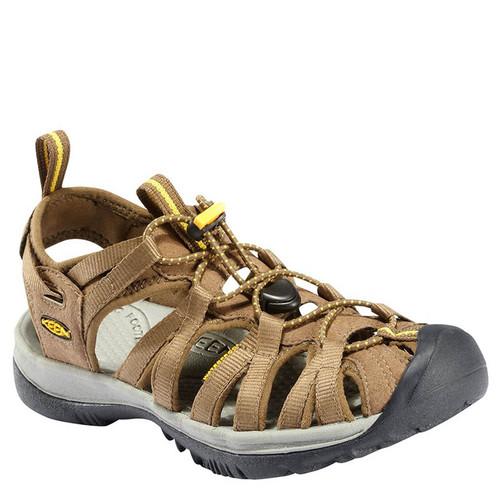 Keen 1003713 Whisper Sandals Coffee Liqueur Yellow