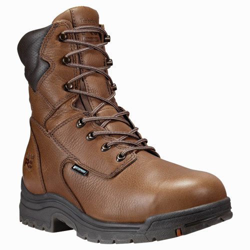 "Timberland PRO 47019210 TITAN 8"" Safety Toe Waterproof Work Boots"
