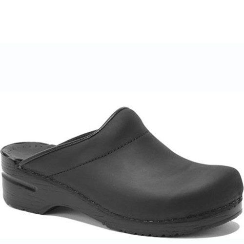 Dansko Men's KARL BLACK OILED Clogs