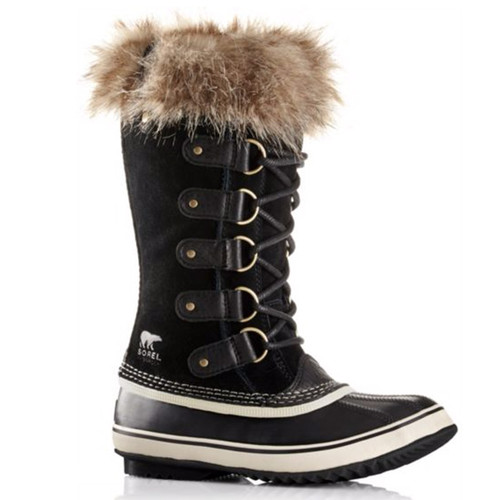 Sorel NL1540 Joan of Arctic Black Winter Snow Boots