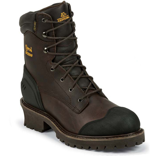 Chippewa 55051 ALDARION Brown Composite Toe Non-Insulated Logger Boots