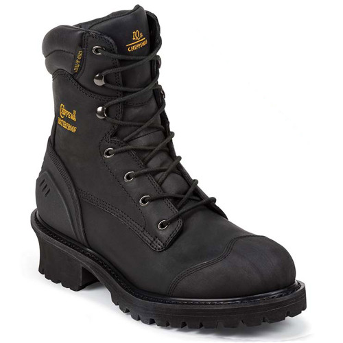 Chippewa 55058 ALDARION Black Composite Toe 400g Insulated Logger Boots