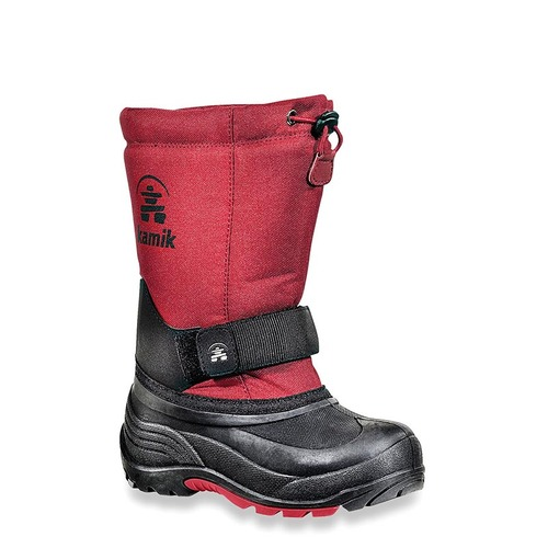 Kamik NK4125 KIDS' ROCKET Red Snow Boots