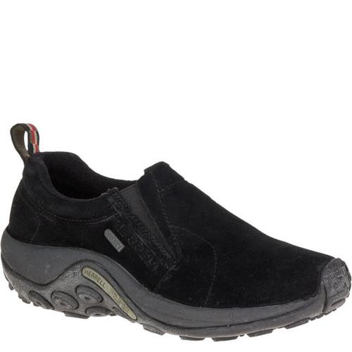 Merrell J60826 Women's JUNGLE MOC Slip-On Shoes Black Suede