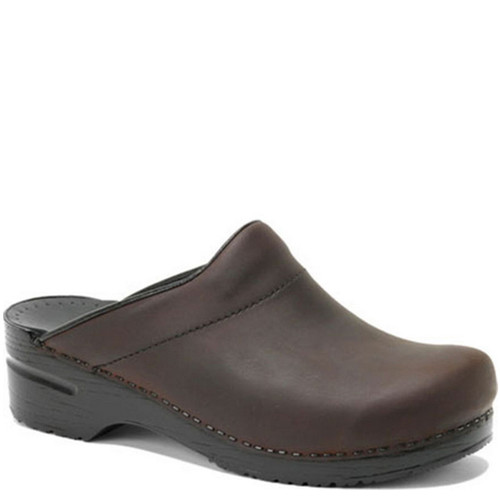 Dansko Men's KARL BROWN OILED Clogs