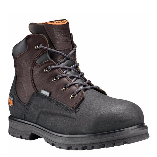"Timberland PRO 47001 POWERWELT 6"" Steel Toe Waterproof Work Boots"