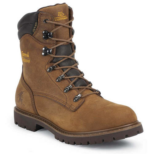 "Chippewa 55068 BIRKHEAD 8"" Insulated Soft Toe Heavy Duty Work Boots"