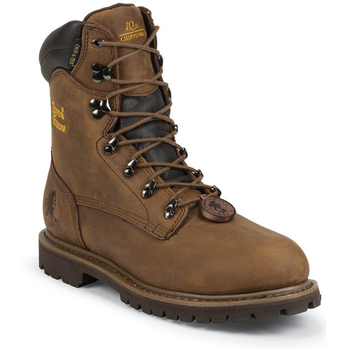 "Chippewa 55069 BIRKHEAD 8"" Steel Toe 400g Insulated Heavy Duty Work Boots"