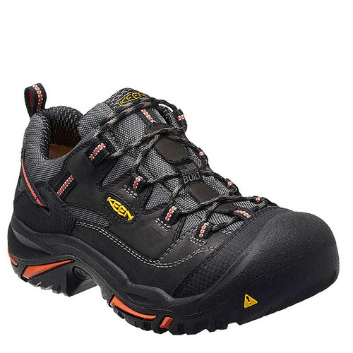 Keen Utility 1011244 USA BRADDOCK Black Steel Toe Non-Insulated Work Shoes