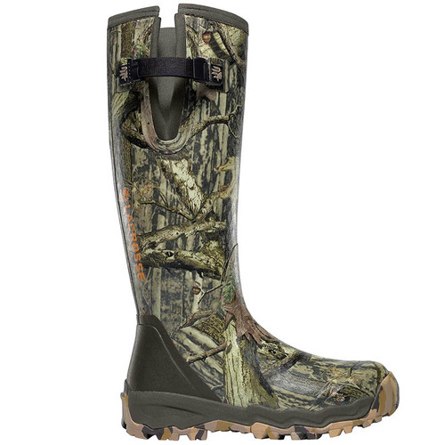 LaCrosse 376017 ALPHABURLY PRO SIDE-ZIP 1000g RealTree Camo Hunting Boots
