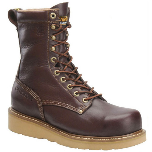 Carolina CA8049 AMP HI BROAD TOE Soft Toe Non-Insulated Wedge Work Boots