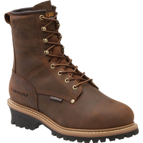 Carolina CA7821 ELM INT Steel Toe 600g Insulated Met Guard Logger Boots