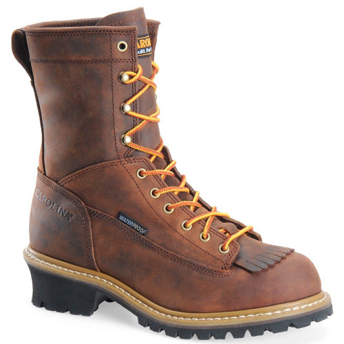 Carolina CA8824 SPRUCE Soft Toe Lace to Toe Logger Boots