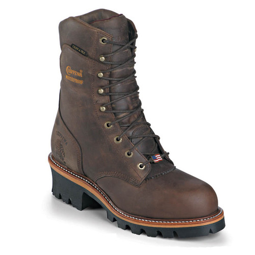 Chippewa 25406 USA ARADOR Soft Toe Non-Insulated Super Logger Work Boots