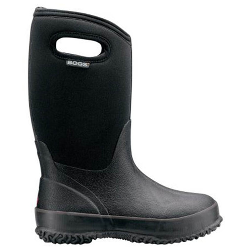 BOGS 52065 KIDS' Insulated Rubber Rain Boots Black